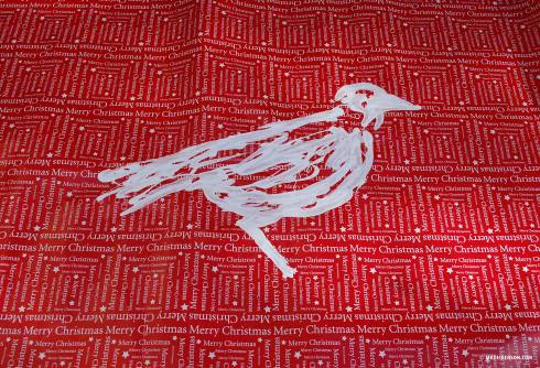 Painted-Wrapping-Bird